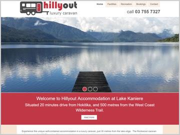 HillyOut Luxury Caravan