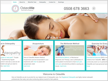 OsteoMe Registered Osteopaths