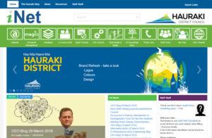 iNet 6 months at Hauraki District Council