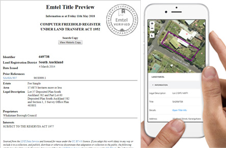 Property Title Search Web Services API Launched