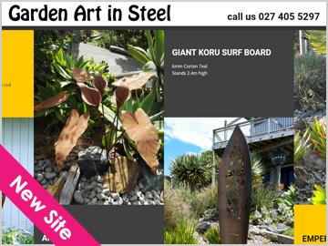 Garden Art In Steel