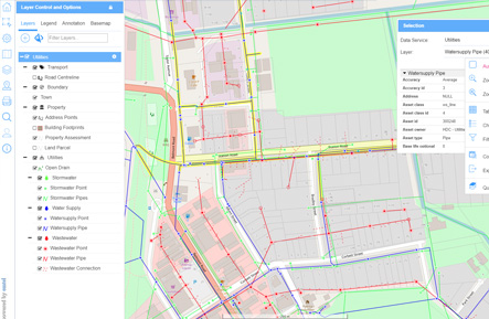 Emtel InfoMap Geospatial Web Software
